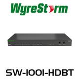 WyreStorm 10x1 HDBaseT Presentation Switcher with 2-Mic Control & CEC