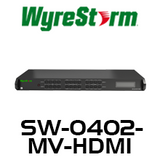 WyreStorm 4x2 Multi-View Scaler/Switcher with Dual 4K HDMI Outputs