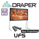 "Draper Ultimate Folding Portable Rear Projection Screen (95-220"")"