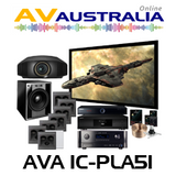 AVA IC-PLA-51 Platinum In-Ceiling Home Theatre Package