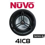 "NuVo 4IC8 Series Four 8"" In-Ceiling Pivoting Speakers (Pair)"
