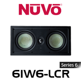 "NuVo 6IW6-LCR Series Six 6.5"" In-Wall LCR Speaker (Each)"