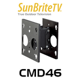 "SunBriteTV CMD46 Dual Ceiling Mount For 46"" & 55"" Display"