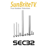 SunBriteTV SEC32 Security Kit For Wall Mount WM32
