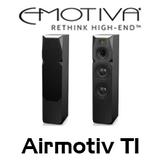 "Emotiva Airmotiv T1 Dual 6"" 3-Way Floorstanding Tower Speakers (Pair)"