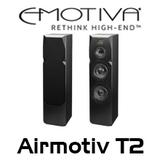 "Emotiva Airmotiv T2 Dual 8"" 3-Way Floorstanding Tower Speakers (Pair)"