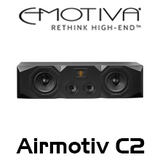 "Emotiva Airmotiv C2 Dual 6"" 3-Way Centre Channel Loudspeakers"