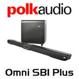 Polk Audio Omni SB1+ Play-Fi Soundbar w/ Wireless Subwoofer