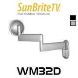 "SunBriteTV WM32D 32"" All-Weather Dual Arm Articulating Wall Mount"