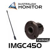 Australian Monitor IMGC450 450mm Premium Electret Cardioid Gooseneck Microphone (3P XLR)