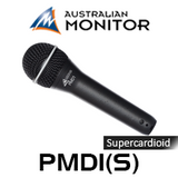 Australian Monitor PMD1 Premium Dynamic Supercardioid Vocal Microphone (3P XLR)
