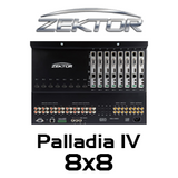 Zektor Palladia IV 8x8 HDMI Matrix With Audiophile Quality Audio