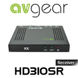 AVGear HD310SR 4K Slim Line HDBaseT 2.0 Receiver With IR & RS232 (70M)