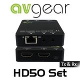AVGear HD50 Compact HDMI Extender Set (55m)