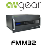 AVGear FMM32 32 Slots 4K Supported Modular Matrix Switcher (Chassis only)