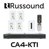Russound CA4-KT1 4 Zones Multiroom Controller Kit With Keypad