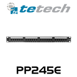 24 Port Metal Cat5e Patch Panel