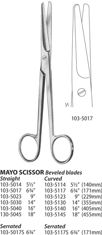 Mayo Scissor