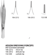 Adson Dressing Forceps