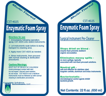 CST 402S Enzymatic Foam Spray Refill