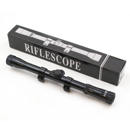 4X20 rifle scope for airsoft guns in black