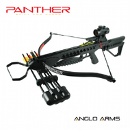 Anglo Arms Panther Tactical Crossbow Set 175lb With Red Dot Sight in Black