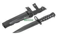 T&D M16 Bayonet Plastic Training Knife in Black