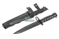T&D M16 Bayonet Plastic Training Knife in Black