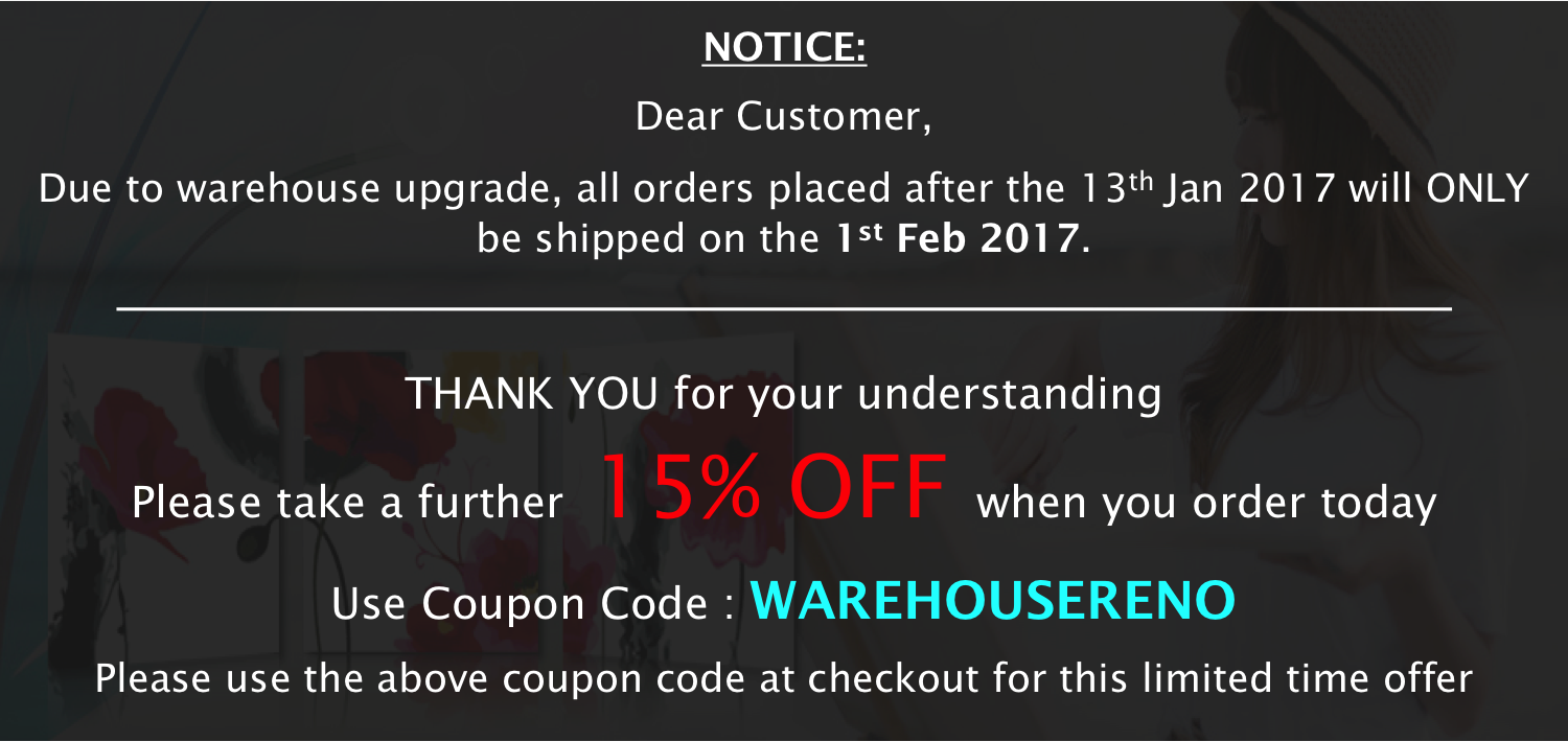 Paint by Numbers - Warehouse Renovation Sale
