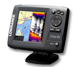 Fishfinder / Chartplotter from Lowrance, Humminbird, Raymarine and Simrad