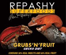 Repashy's ultimate gecko diet: Grubs'n'Fruit