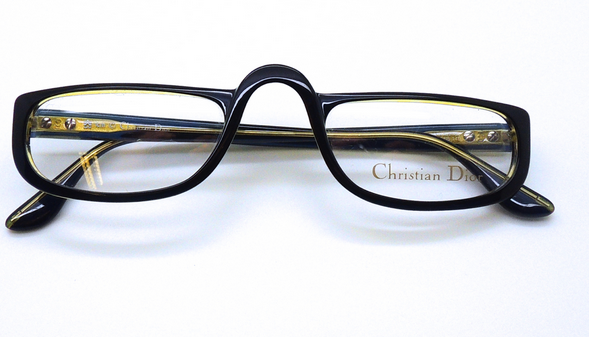 Dior prescription reading glasses from The Old GLasses Shop