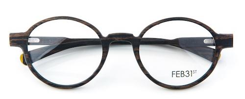 FEB31st handmade wooden Oval Glasses from www.theoldglassesshop.co.uk