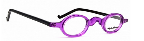Vintage Style Small Oval Acrylic Spectacles By Anglo American At www.theoldglassesshop.co.uk