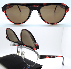 Clip-on sunglasses from www.theoldglassesshop.com