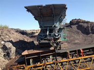 1999 Komatsu BR300J-1 Track Mounted Jaw Crusher used for sale