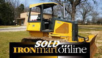 2008 John Deere 450J LGP Crawler Loader, job ready.