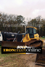 Used John Deere 850J LGP Crawler Tractor, in very good condition.