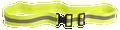 Belt, High Visibility (Reflective Yellow PT Belt), NSN 8465-01-444-1493