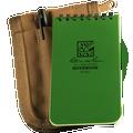 RITE IN THE RAIN 935-KIT (3X5 KIT - GREEN BOOK/TAN COVER - NSN 7530-01-536-2661)