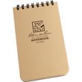RITE IN THE RAIN 935T (3X5 NOTEBOOK - TAN - NSN 7530-01-505-3705)