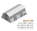 Shelter, Base-X, 205, 14'x25' - NSN 8340-01-533-1674, 8340-01-533-1675