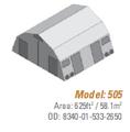 Shelter, Base-X, 505, 26'x25' - NSN 8340-01-533-2650