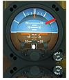 AIM 1200-1, 3-Inch Indicator, Lit, Rear Mount, P/N: 504-0121-9xx