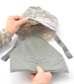 Outer Tactical Vest (IOTV), GEN II, GROIN PROTECTOR ASSEMBLY ONLY, ACU Pattern, Size LG-4XL, NSN: 8470-01-564-4031