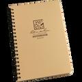 RITE IN THE RAIN 973-KIT (4 ‰É X 7 KIT - SPIRAL NOTEBOOK - GREEN BOOK / TAN COVER)