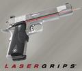 Crimson Trace LaserGrip, LG-401, for M1911 Series Pistol, NSN 5855-01-460-9153