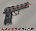 Crimson Trace LaserGrip, LG-402M, MIL-SPEC, for Beretta 92/96/M9 Pistol, NSN 5855-01-460-9157