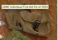 Carrying Pouch for USMC Individual First Aid Kit (IFAK), Coyote Tan, NSN 8105-09-000-2725