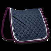 Waldhausen ROM Dressage Saddle Pad - Night Blue/Purple